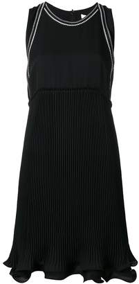 3.1 Phillip Lim embroidered ruffle hem dress
