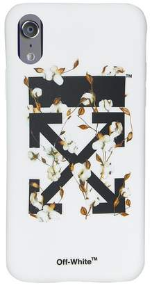 Off-White Arrows Floral Print iPhone X Case
