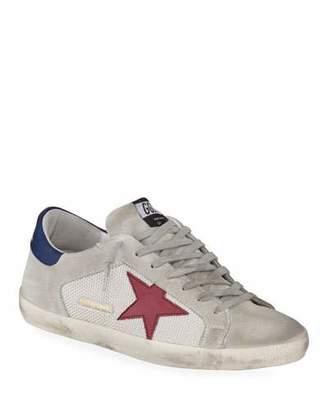Golden Goose Men's Superstar Suede & Mesh Sneakers