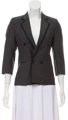 Band Of Outsiders Wool Double-Breasted Blazer