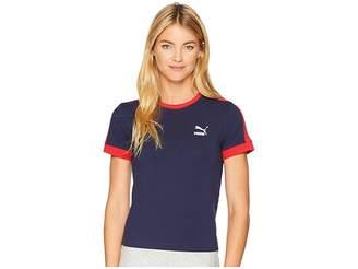 Puma Classics Tight T7 Tee Women's T Shirt