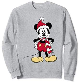 Disney Santa Mickey Mouse Sweatshirt
