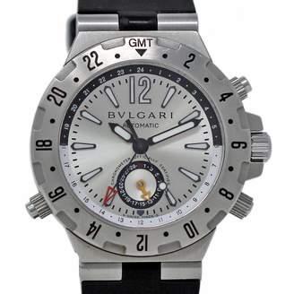 Bulgari Diagono Silver Steel Watches