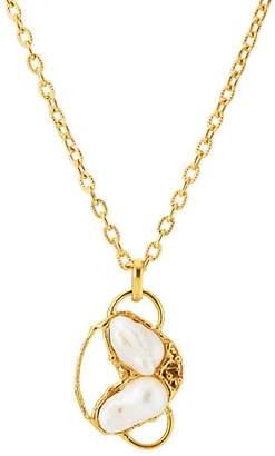 Sylvia Toledano Women's Baroque Pendant Necklace - Pearl