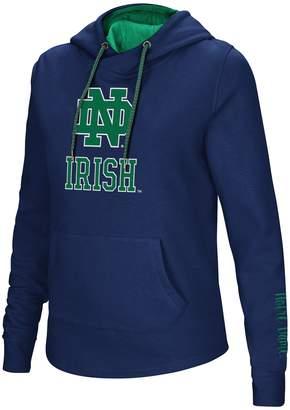 Women's Notre Dame Fighting Irish Crossover Hoodie