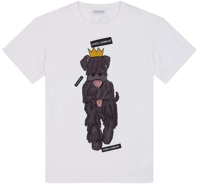 Year of the Dog Print T-Shirt