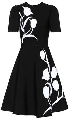 Carolina Herrera Knitted intarsia dress