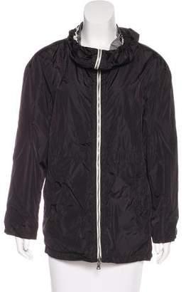 Prada Sport Hooded Zip-Up Jacket