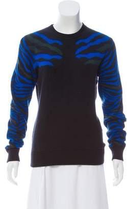 Torn By Ronny Kobo Intarsia Crew Neck Sweater