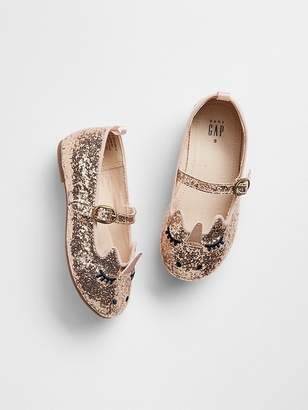 Gap Unicorn Sparkle Ballet Flats
