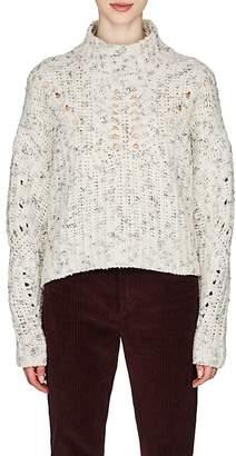 Isabel Marant Women's Jilly Wool Crop Sweater