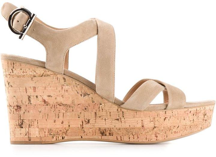 Salvatore Ferragamo high wedge sandal