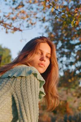 Crazy In Love Ruffle Sweater