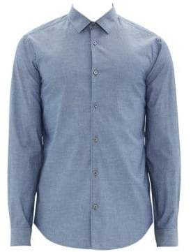 Theory Murrary Harbor Chambray Shirt