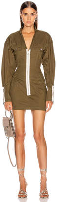 Marissa Webb Spencer Canvas Dress in Forest | FWRD