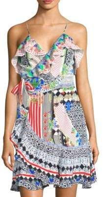 Camilla Rio With Love Silk Wrap Dress