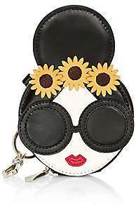 Alice + Olivia Women's Evy Staceface Leather Coin Pouch