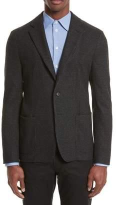 Armani Collezioni Emporio Armani Techno Jersey Jacket
