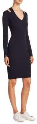 The Row Venia V-Neck Dress