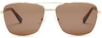 Ermenegildo Zegna Women&s Metal Aviator Sunglasses $305 thestylecure.com