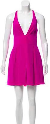 Jay Godfrey Silk Mini Dress