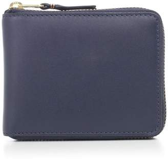 Comme des Garcons Color-plain Zip Around Wallet