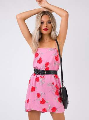 Motel Lura Slip Dress Candy Rose