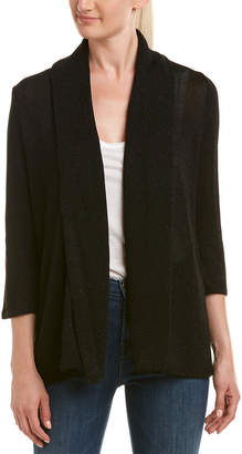 Three Dots Shimmer Shawl Cardigan
