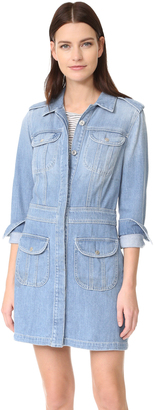 7 For All Mankind Button Front Dress $319 thestylecure.com