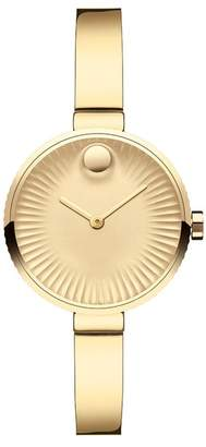 Movado Women's Edge Swiss Quartz Bracelet Watch, 28mm