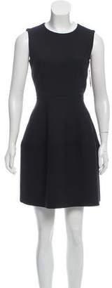 Dolce & Gabbana Sleeveless Mini Flare Dress