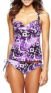 JCPenney Bisou Bisou® Tankini and Swim Hipster