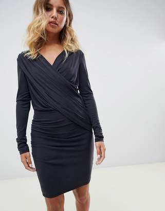AllSaints Sofia slinky jersey dress
