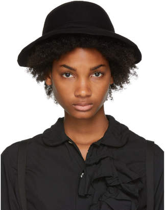Comme des Garcons Black Scha Edition Draped Wool Felt Hat
