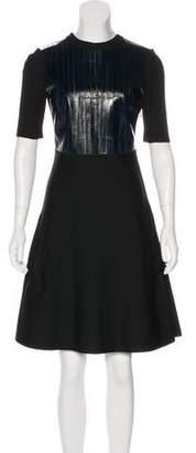 Louis Vuitton Knee-Length Knit Dress