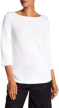 Tommy Bahama Hibiscus Stitch Boatneck Sweater