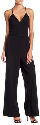 Bebe Back Lace Jumpsuit