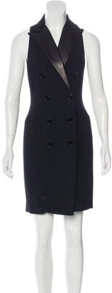 Ralph Lauren Double-Breasted Tuxedo Dress $230 thestylecure.com