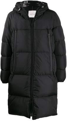 Moncler logo bands padded coat