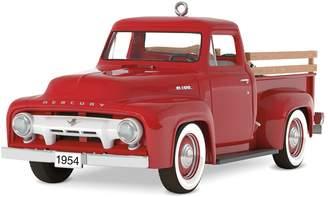 Hallmark All-American Trucks 1954 Mercury M-100 2018 Keepsake Christmas Ornament