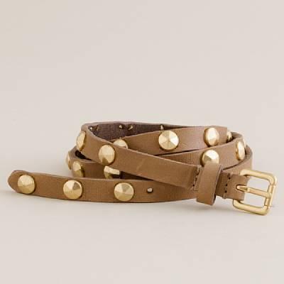 Studded bar-car belt