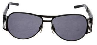 Miu Miu Aviator Tinted Sunglasses