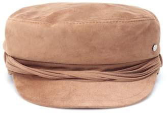 Maison Michel New Abby suede hat