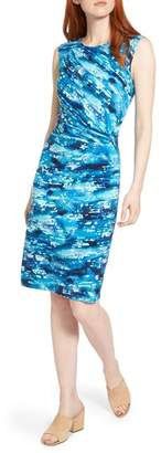 Nic+Zoe Surf Spray Sheath Dress