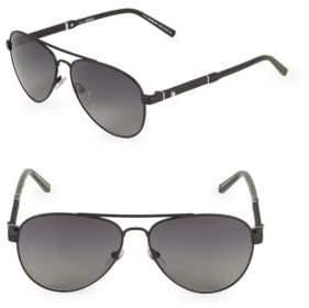 Montblanc 59MM Aviator Sunglasses