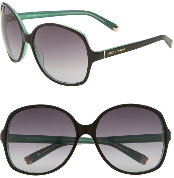 Shades of Couture by Juicy Couture 'Etiquette' Oversized Sunglasses