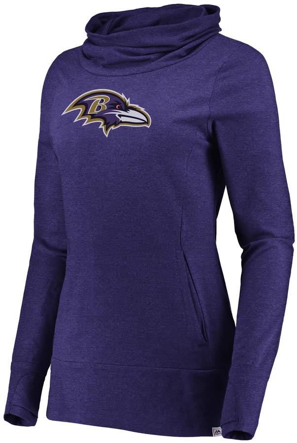 Women's Majestic Baltimore Ravens Flex Hoodie