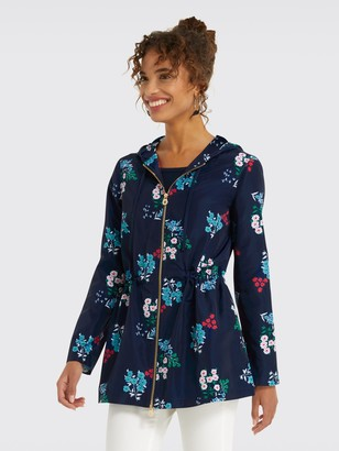 Draper James Floral Hooded Coat