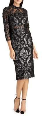 Rachel Roy Nadia Foil Jacquard Bodycon Dress