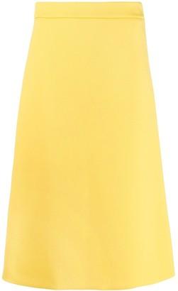 Prada high rise A-line skirt